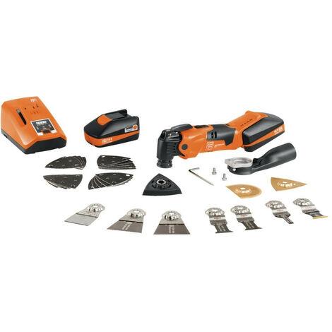 FEIN Multimaster sans fil AMM 500 Plus Top sans fil avec 2 batteries (18 V/3 Ah) coffret - 71293361000