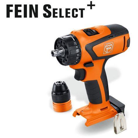 Fein Perceuse visseuse 12V ASCM12Q Select solo sans batterie ni chargeur 71161064000