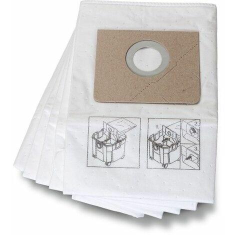 Fein Sac filtrant Premium en matériau non tissé 5 Pce - 31345251010