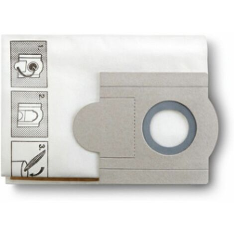 Fein Sacs filtrants papier pour Dustex 40