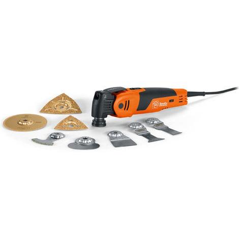 Fein Set Pro Rénovation de carrelage/ de salles de bains, Machine oscillante 450 W - 72294664000