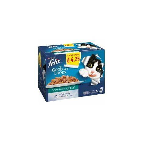 "main image of ""Felix As good as it looks Ocean Feasts in Jelly £4.25 - 100g - 343700"""