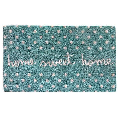 "FELPUDO 40X70 ""HOME SWEET HOME"""