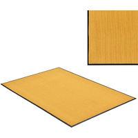 Felpudo atrapasuciedad alfombra de entrada felpudo para puerta color mostaza 180 x120 cm