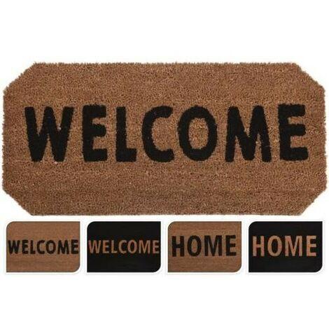 FELPUDO COCO 33X70 WELCOME/HOME SURTIDO A35400870