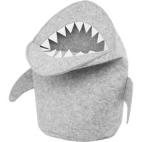 Felt Basket Light Grey SHARK