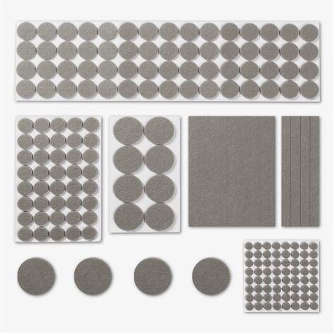 Felt Furniture Protector Pads   Pukkr Grey - Grey