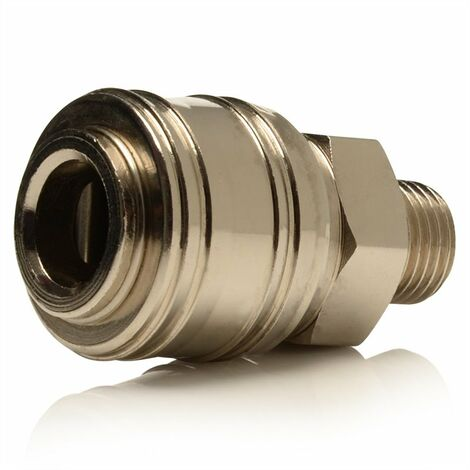 """Female Quick Release Coupler to 1/4"""" BSPM"""