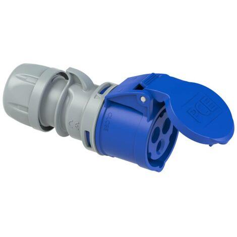 Femelle CEE-CARA 16 A 3 pôles PCE 213-6tt 230 V bleu-gris 1 pc(s)