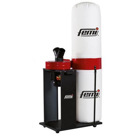 Femi - Aspirateur d'atelier moteur induction 1500W 2700 m3/h 170L (haut de gamme) - 351 Plus