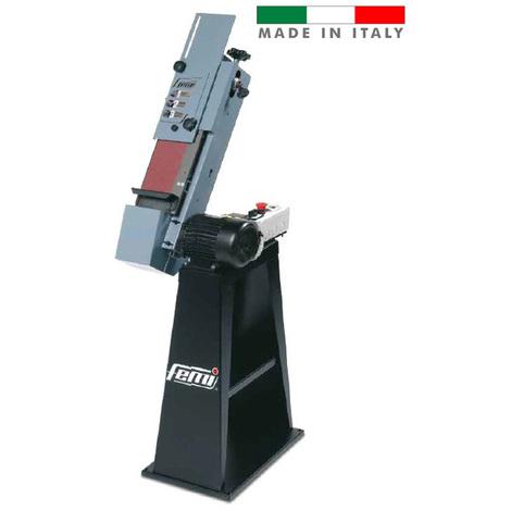 Femi - Ponceuse à bande inclinable à 2 vitesses 600/900W 120x1500mm - 504B
