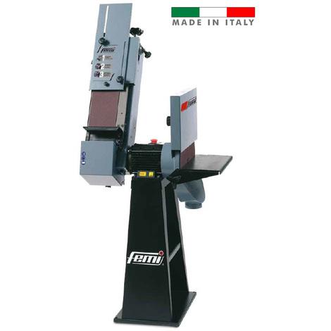 Femi - Ponceuse combiné 1350/1600W triphasée disque Ø 400 mm bande 150x1750 mm - 539B