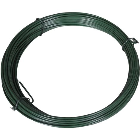Fence Binding Wire 25 m 1.4/2 mm Steel Green
