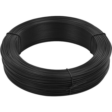Fence Binding Wire 250 m 1.4/2 mm Steel Anthracite