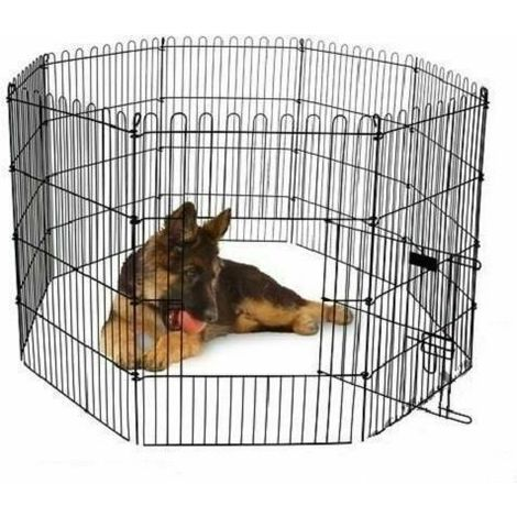 Fence for puppies and rodents Puppy Dog Animal Cage Run Garden