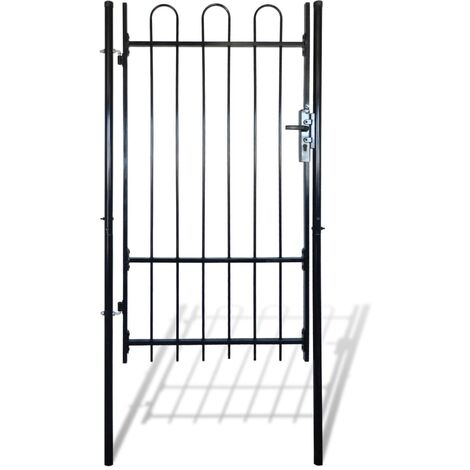 Fence Gate with Hoop Top (single) 100 x 175 cm