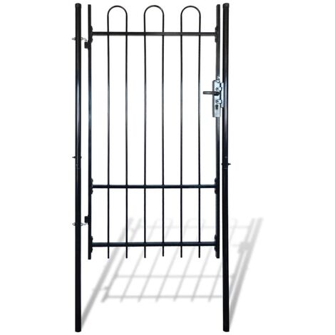 Fence Gate with Hoop Top (single) 100 x 198 cm