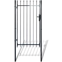 Fence Gate with Spear Top (single) 100 x 150 cm