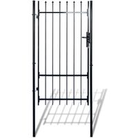 Fence Gate with Spear Top (single) 100 x 198 cm