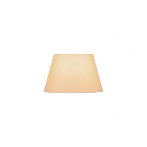 fenda abat jour conique 45cm beige beige 156183. Black Bedroom Furniture Sets. Home Design Ideas