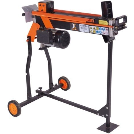 Fendeur de bûches électrique 1500 W coupe horizontale 30-250 mm 5 t 119005
