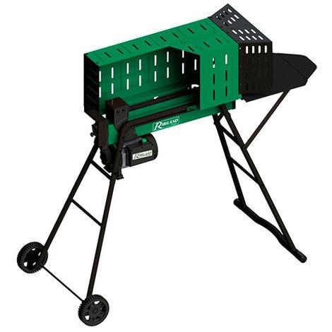 Fendeur de bûches électrique 7 T horizontal - 52 cm - 2 300 W 230 V sur pieds avec roues - taille: - couleur: