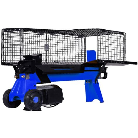 Fendeuse à bois électrique 5 Tonnes AMA 92300 horizontal