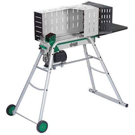 Fendeuse de bûches électrique horizontale FBH6T 6 Tonnes - 2 100 W 230 V - 182036 - Fartools