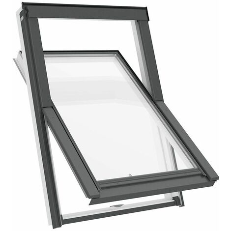 Fenêtre de toit S6A 114 x 118 cm Solstro APX B700, PVC Blanc