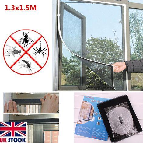 Fenêtre moustiquaire moustiquaire moustique insecte mouche magique protecteur magnétique collant