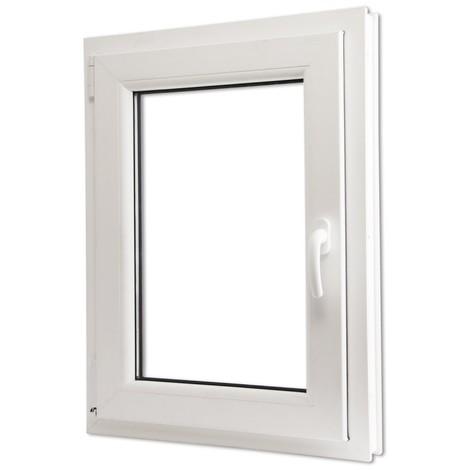 Fenêtre Oscillo Battant En Pvc Poignée Sur La Droite 600 X 900 Mm