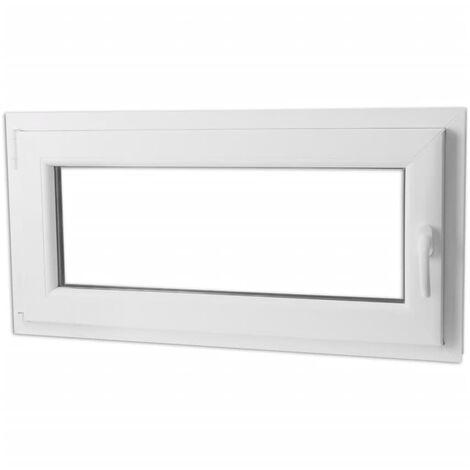 Fenêtre Oscillo Battante Double Vitrage Poignée à Droite 1200 X 600 Mm