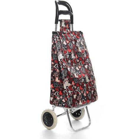 Fenghuo Wheel Shopping Cart Decor Fabric Bag Custom Shopping Cart Trolley