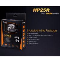Fenix Kopflampe HP25R LED-Stirnlampe inkl USB Kabel 1000Lumen Akku