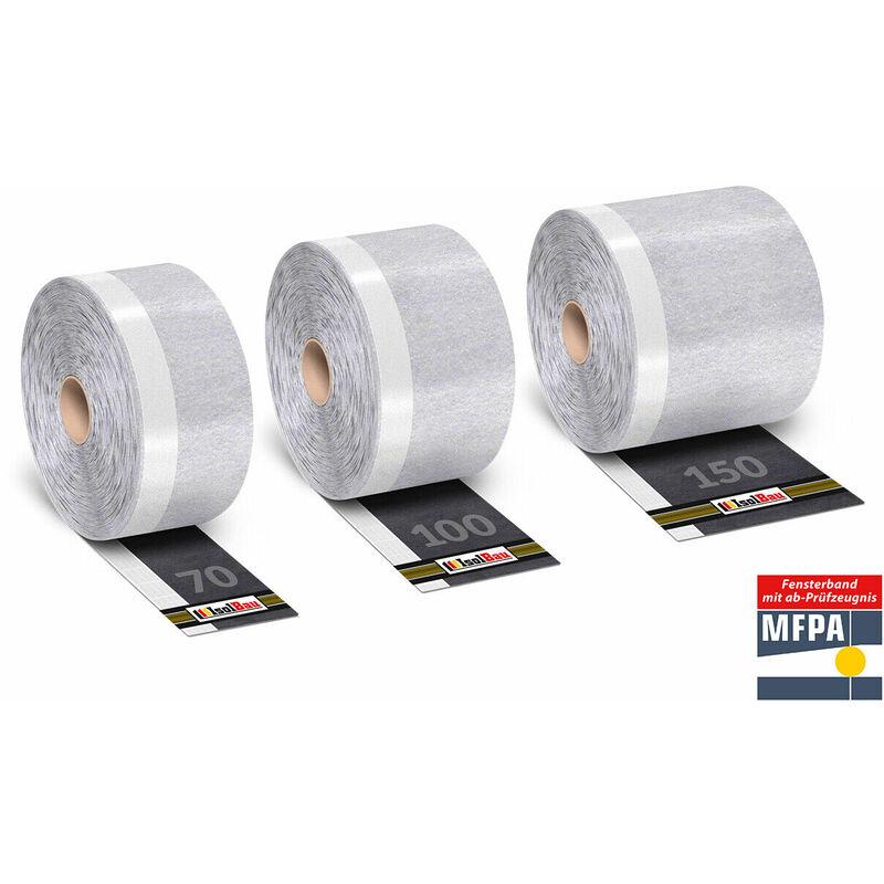 Fensterband Dichtband Innen 150mm x 30m Fensteranschlussband Folienband Montage