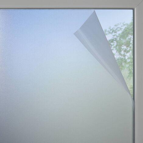 Fensterfolie Milchglas-optik - statisch - 90 x 200 cm