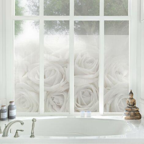 Fensterfolie Sichtschutz Fenster Rosenhochzeit Fensterbilder Grosse Hxb 108cm X 162cm