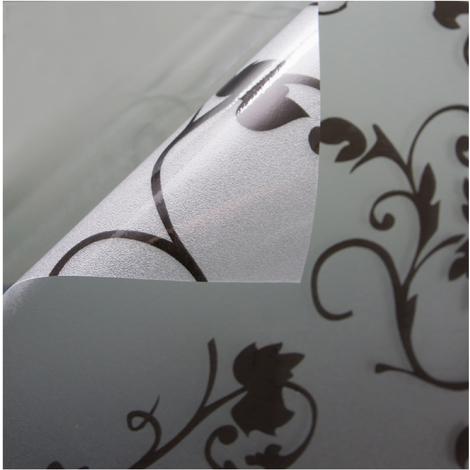Fensterfolie Sichtschutzfolie Milchglasfolie Motiv Tendril statisch verschiedene Größen