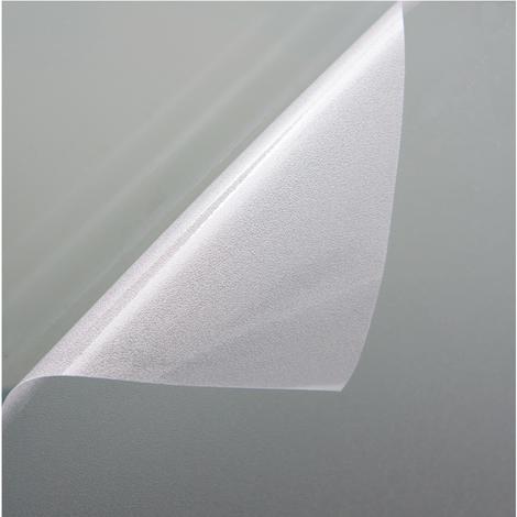Fensterfolie Sichtschutzfolie Milchglasfolie Transparent statisch verschiedene Größen