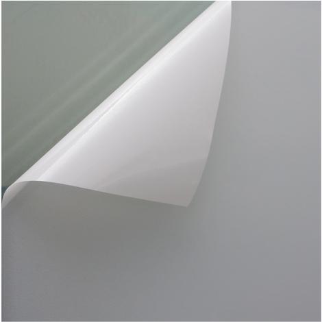 Fensterfolie Sichtschutzfolie Milchglasfolie Weiss statisch verschiedene Größen