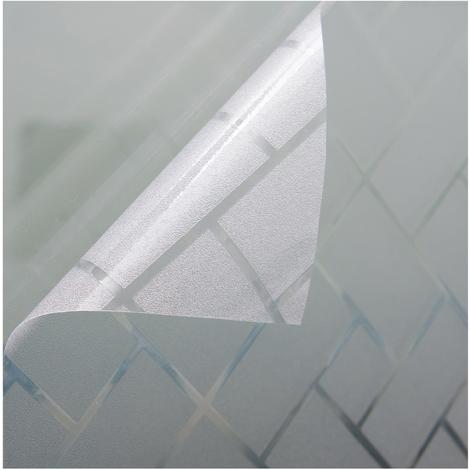Fensterfolie verschiedene Größen und Motive Sichtschutzfolie Milchglasfolie Transparent statisch