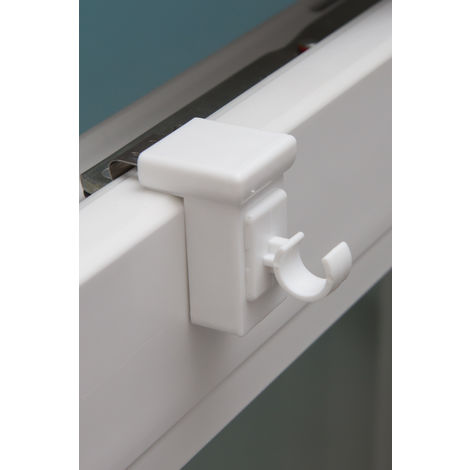 Bevorzugt Fensterhaken weiss für Fenster bis 10-27 mm zum Einlegen von SE57