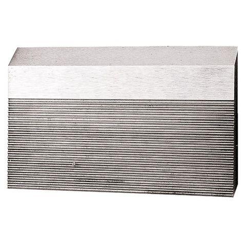 Fer brut cranté HSS 650 x 50 x 8 mm pour bois - 6506.50 - Leman - -