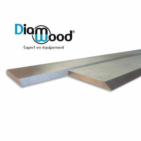 Fer de dégauchisseuse/raboteuse 200 x 20 x 2.5 mm acier HSS (le fer) - Diamwood