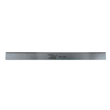 Fer de dégauchisseuse/raboteuse PRO 410 x 25 x 3 mm acier HSS 18% (le fer) - Diamwood Platinum