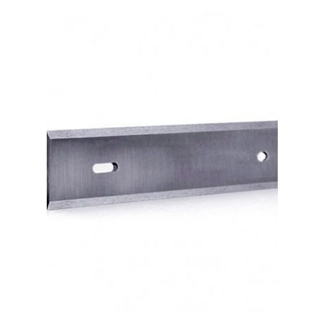 Fer de dégauchisseuse/raboteuse reversible HSS 18% 280 x 19 x 1 mm (le fer) entraxe 200 mm - MFLS - FERE280191 - -