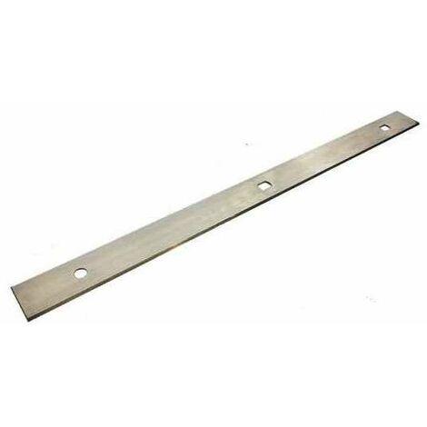 Fer de dégauchisseuse réversible 260x18,5x1.0 mm (Bestcombi 260, Lurem RD26, Kity 637, RAD260, Metabo)