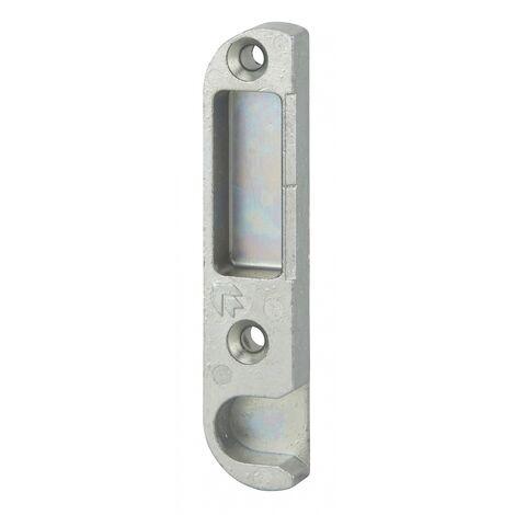 FERCO by THIRARD - Gâche centrale encastrable pour porte d'entrée bois, droite, 85x18x9mm, compatible Decena, E-13065-00-R-1