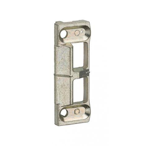 Ferco by Thirard - Gâche de tringle double pour fenêtre 2 vantaux Unijet dimensions : 55 x 20 mm