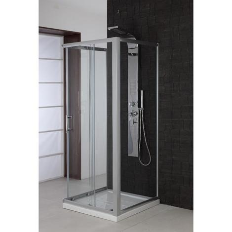 Box Doccia Tre Lati.Feridras Profilo In Alluminio Per Box Doccia 3 Lati 891024